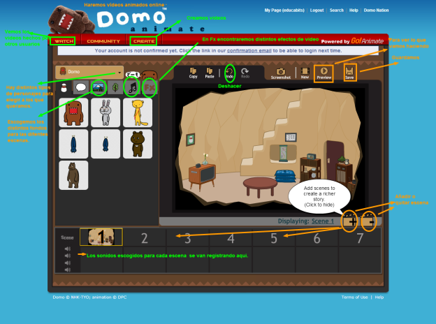 Domo Animate   Create animations